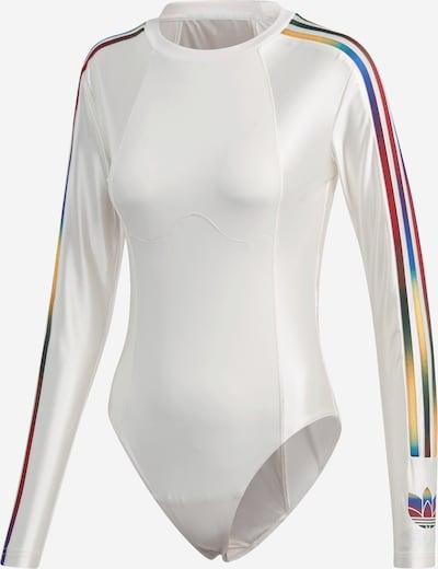ADIDAS ORIGINALS Blouse body in de kleur Gemengde kleuren / Wit, Productweergave