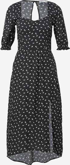 HOLLISTER Robe d'été en noir / blanc, Vue avec produit