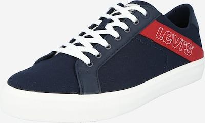 LEVI'S Sneaker 'WOODWARD' in navy / rot / weiß, Produktansicht