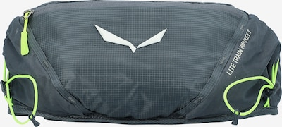 SALEWA Gürteltasche in dunkelgrau / apfel / weiß, Produktansicht