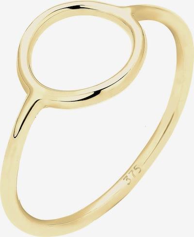 ELLI PREMIUM Ring 'Geo' in gold, Produktansicht