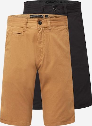 INDICODE Chino trousers in Khaki / Black, Item view
