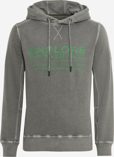 CAMEL ACTIVE Sweatshirt in stone / grün, Produktansicht