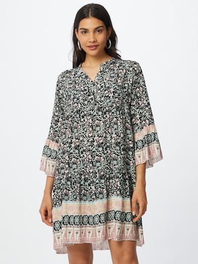 ZABAIONE Kleid 'Esra' in beige / pfirsich / schwarz / weiß, Modelansicht