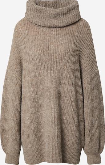 """LeGer by Lena Gercke """"Oversize"""" stila džemperis 'Juna', krāsa - brūns / raibi brūns, Preces skats"""