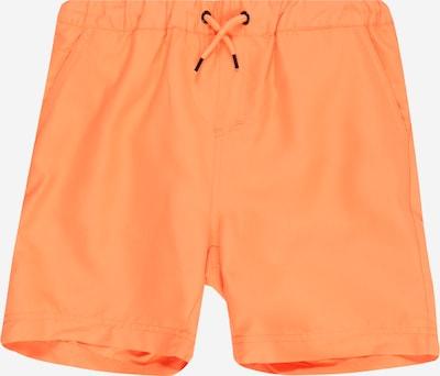 NAME IT Badeshorts 'Zelixo' in orange, Produktansicht