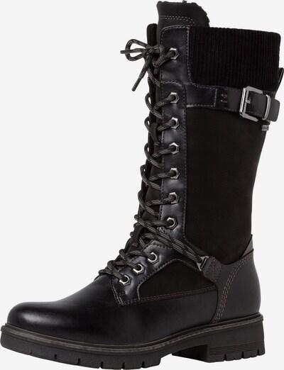 TAMARIS Čizme sa vezicama u crna, Pregled proizvoda