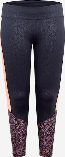 Only Play Curvy Športne hlače 'DAMMAN' | mešane barve / pastelno oranžna / rosé / črna / bela barva, Prikaz izdelka