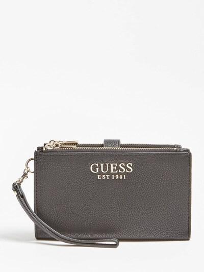 GUESS Portemonnaie in schwarz, Produktansicht