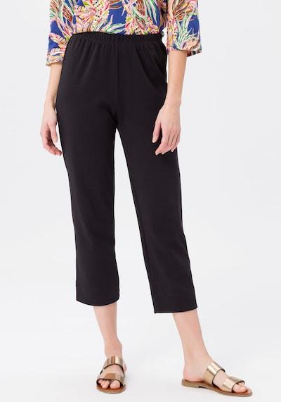 Green Cotton 7/8-Schlupf-Hose in schwarz, Modelansicht