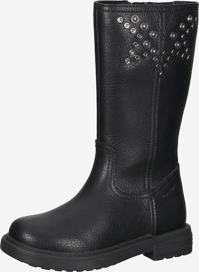 GEOX Stiefel in silbergrau / schwarz, Produktansicht