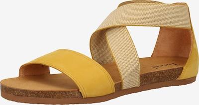THINK! Sandale in gelb, Produktansicht