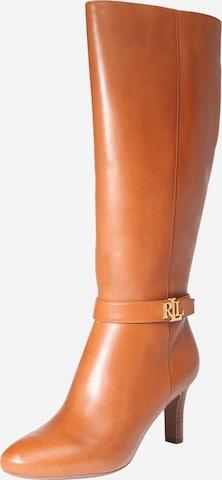 Lauren Ralph Lauren Boots 'Ardington' in Brown