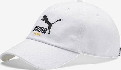PUMA Classics Hemp Baseballcap in weiß, Produktansicht
