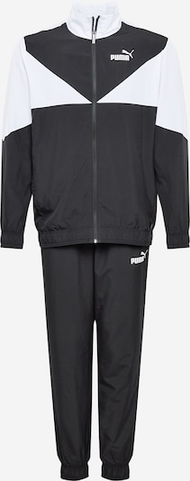 PUMA Sportski komplet u crna / bijela, Pregled proizvoda