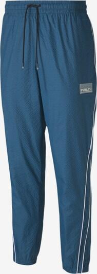 PUMA Pantalon de sport en bleu, Vue avec produit