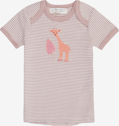 Sense Organics T-Shirt ' TILLY' en mauve / blanc, Vue avec produit