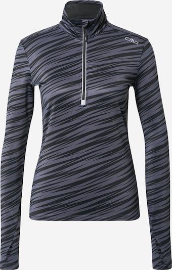 CMP Sweatshirt in grau / schwarz, Produktansicht