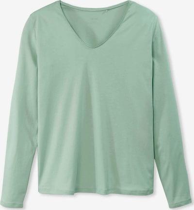 CALIDA V-Kragen T-Shirt in grün / mint, Produktansicht