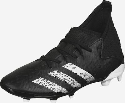 ADIDAS PERFORMANCE Fußballschuh 'Predator Freak.3 FG' in schwarz / weiß, Produktansicht