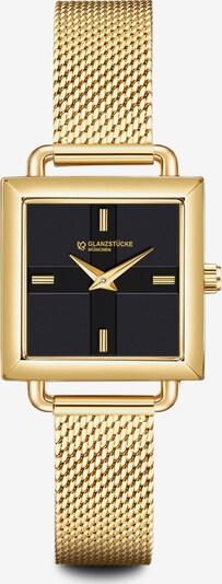 Glanzstücke München Armbanduhr in goldgelb, Produktansicht
