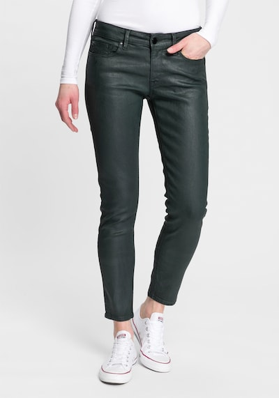 REPLAY Jeans 'New Luz' in dunkelgrün, Modelansicht