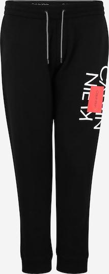 Calvin Klein Nohavice - červená / čierna / biela, Produkt