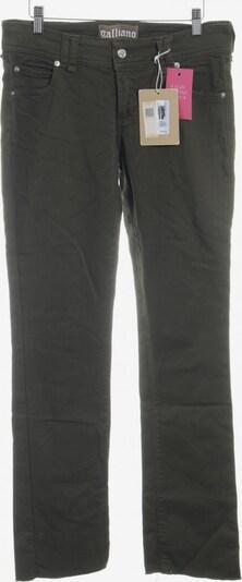 Galliano Straight-Leg Jeans in 31 in oliv, Produktansicht