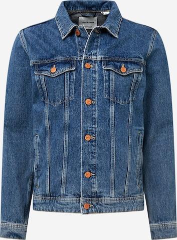 JACK & JONES Between-Season Jacket 'JEAN' in Blue