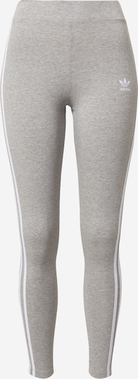 ADIDAS ORIGINALS Leggings en gris moteado / blanco, Vista del producto