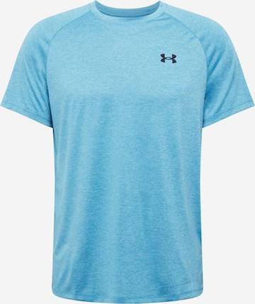 T-Shirt fonctionnel 'Tech 2.0' UNDER ARMOUR en bleu