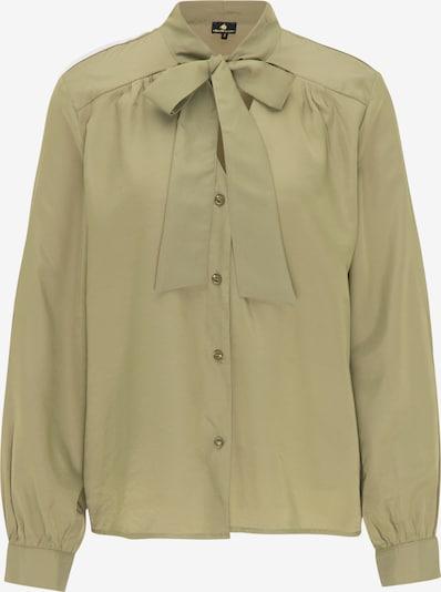 DreiMaster Klassik Bluse in oliv, Produktansicht