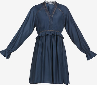 DreiMaster Maritim Jurk in de kleur Donkerblauw, Productweergave