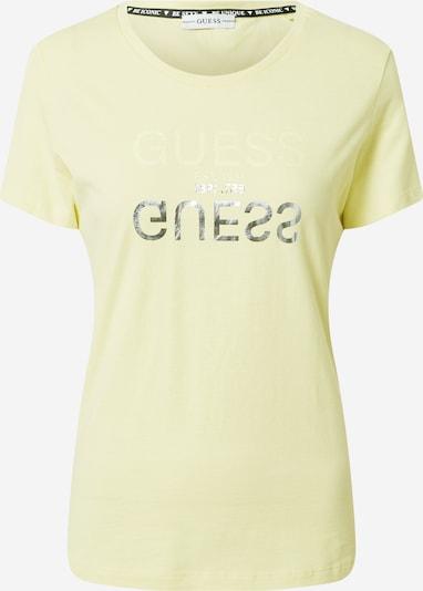 GUESS Tričko 'Lenna' - žltá / strieborná, Produkt