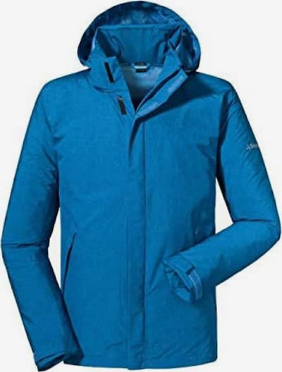 Schöffel Outdoorjas 'Easy M4' in de kleur Hemelsblauw, Productweergave
