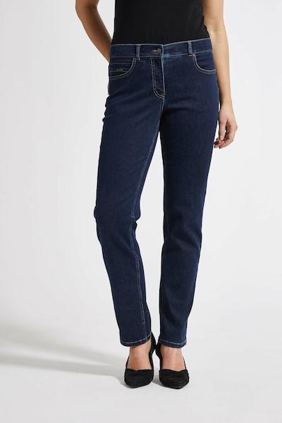 LauRie Jeans 'Christie' in de kleur Blauw, Modelweergave