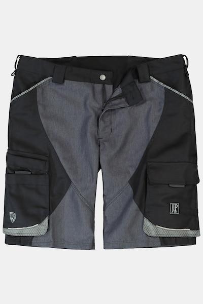 JP1880 Cargobroek in de kleur Grijs / Gemengde kleuren / Zwart, Productweergave