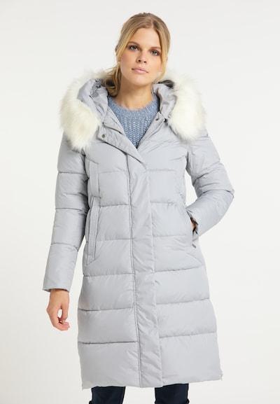 usha WHITE LABEL Wintermantel in pastellblau, Modelansicht
