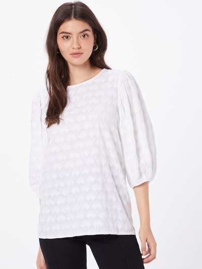 Bluză s.Oliver pe alb, Vizualizare model