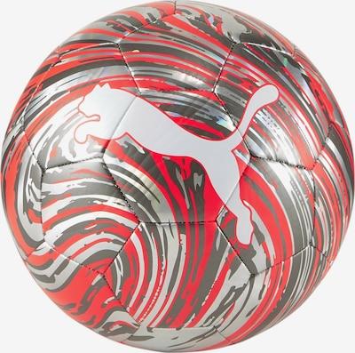 PUMA Ball in stone / rot / silber, Produktansicht