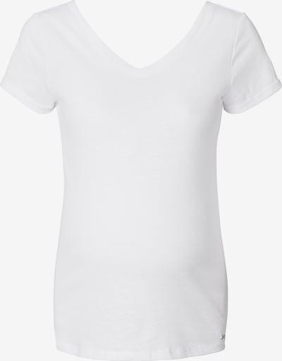 Tricou Esprit Maternity pe alb, Vizualizare produs