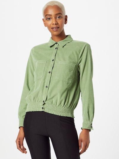 MORE & MORE Blouse in Light green, View model
