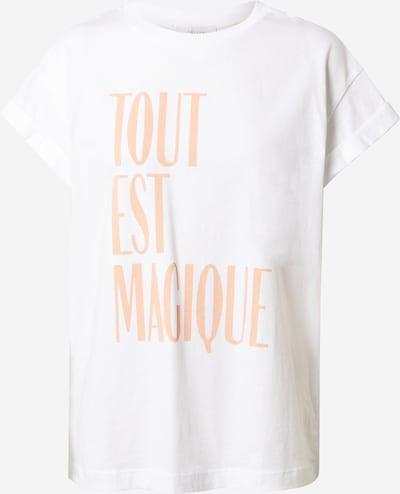 Rich & Royal T-shirt en rose / blanc, Vue avec produit