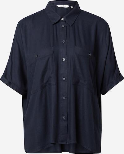 TOM TAILOR Bluse in nachtblau, Produktansicht