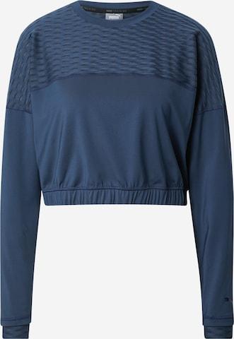 PUMA Athletic Sweatshirt in Blue
