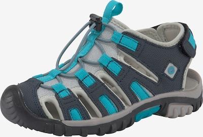 HI-TEC Sandale in navy / türkis, Produktansicht