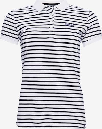 Superdry Shirt in de kleur Zwart / Wit, Productweergave