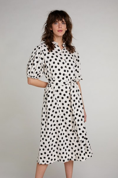 OUI Kleid in schwarz / weiß, Modelansicht