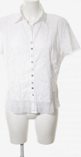 Just White Kurzarm-Bluse in L in weiß, Produktansicht