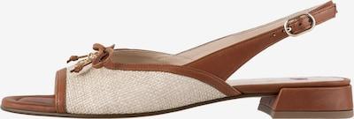 Högl Sandaletten 'Raffaela' in beige / braun, Produktansicht